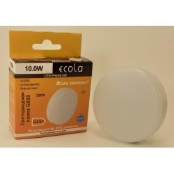 Ecola GX53 св/д 10W 4200K 4K 27x75 матов. Premium T5UV10ELC