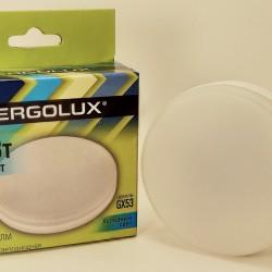 Ergolux GX53 св/д 12W(1140lm) 4500K 4K матовая 74x28 LED-GX53-12W-GX53-4K