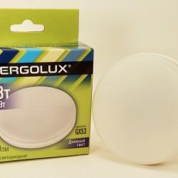 Ergolux GX53 св/д 12W(1140lm) 6500K 6K матовая 74x28 LED-GX53-12W-GX53-6K